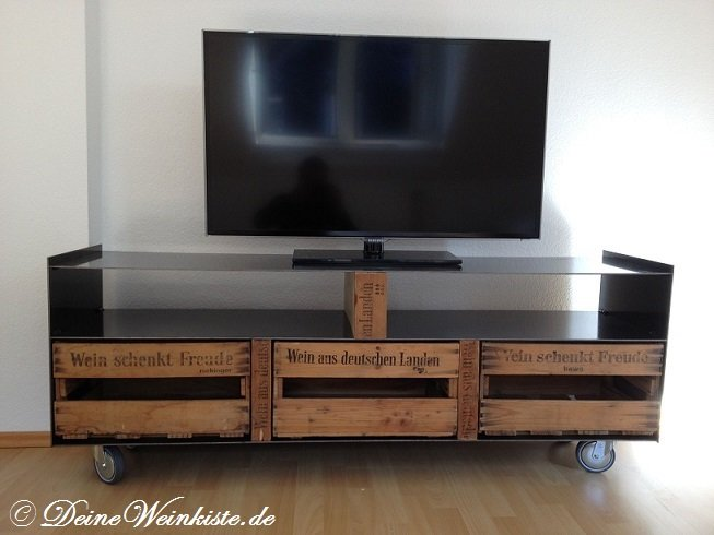 weinkisten tv boards. Black Bedroom Furniture Sets. Home Design Ideas
