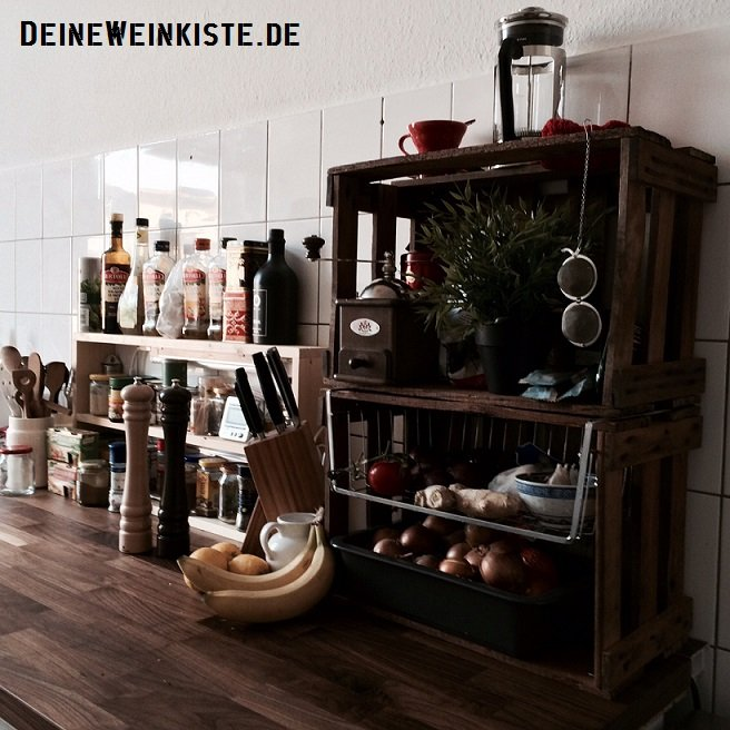 weinkisten stell und stapelregale. Black Bedroom Furniture Sets. Home Design Ideas